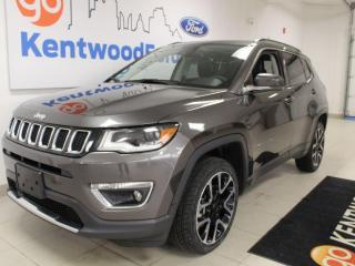 Used 2018 Jeep Compass Limited | 4x4 | Leather | Sunroof | Clean Carproof for sale in Edmonton, AB