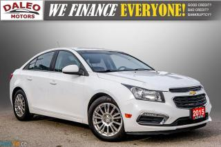 Used 2015 Chevrolet Cruze ECO / BACK-UP CAM / USB / ACCIDENT FREE for sale in Hamilton, ON