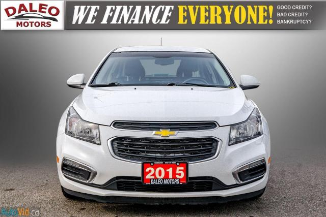 2015 Chevrolet Cruze ECO / BACK-UP CAM / USB / ACCIDENT FREE Photo3
