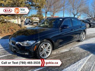 Used 2016 BMW 3 Series 328I XDRIVE; SUNROOF, AWD, HEATED SEATS, LEATHER, NAV, 7 PASSENGER, STOW AND GO, BLUETOOTH for sale in Edmonton, AB