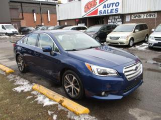 Used 2015 Subaru Legacy 3.6R w/Limited Pkg ~ LEATHER ~ NAVIGATION ~ LOW KM for sale in Toronto, ON