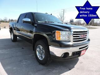 Used 2013 GMC Sierra 1500 SLT Leather 4X4 No rust Only 96000 km for sale in Gorrie, ON