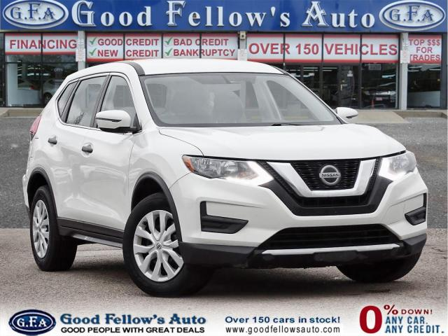 2017 Nissan Rogue S AWD, REARVIEW CAMERA, PARKING ASSIST REAR, 2.5L