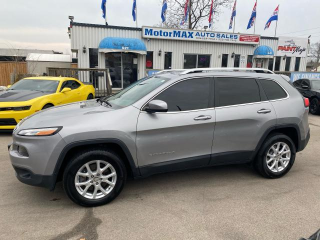 2016 Jeep Cherokee North-4x4-V6-Navi-ACCIDENT FREE