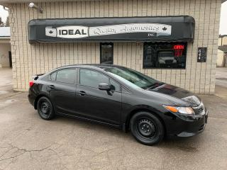 Used 2012 Honda Civic LX for sale in Mount Brydges, ON