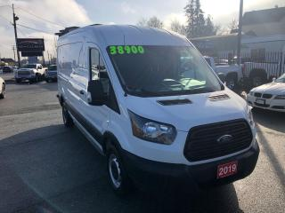 Used 2019 Ford Transit 250 Mid Roof Ext Wheel Base 3.7L V6 6 Spd Auto for sale in Langley, BC