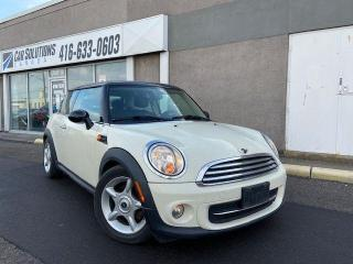 Used 2013 MINI Cooper MANUAL-SUNROOF-LEATHER for sale in Toronto, ON