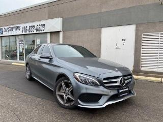 Used 2017 Mercedes-Benz C-Class C 3004MATIC-SPORT PACKAGE for sale in Toronto, ON