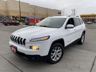 Used 2015 Jeep Cherokee North, 4X4, Auto, 3 Years Warranty Available for sale in Toronto, ON