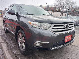 Used 2012 Toyota Highlander 4WD-7 SEATS-LEATHER-SUNROOF-BK UP CAM-BLUETOOTH for sale in Scarborough, ON