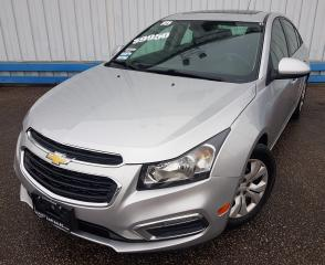 Used 2015 Chevrolet Cruze 1LT *SUNROOF* for sale in Kitchener, ON