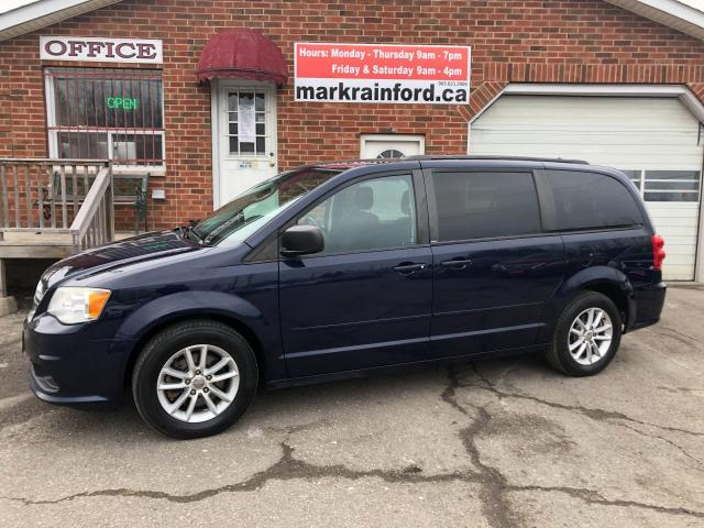 2014 Dodge Grand Caravan SXT Stow'N'Go DVD Pwr Side Windows Back Up Cam BT