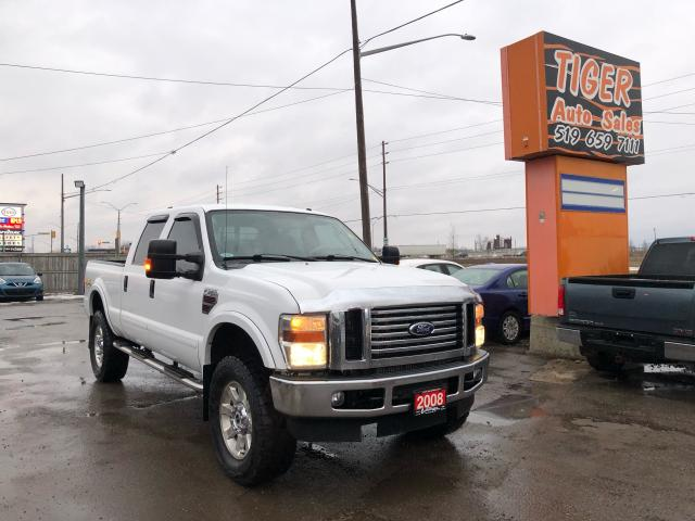 "2008 Ford F-350 Lariat*186KMS*DIESEL*4X4*TUNED*37""TIRES*CLEAN*CERT"