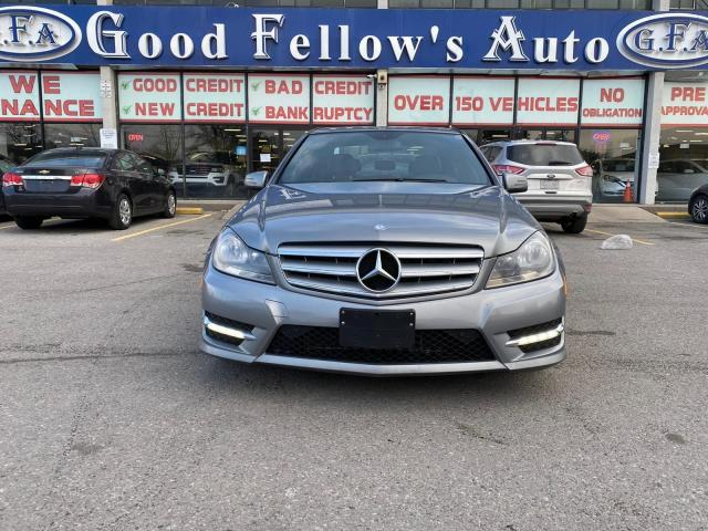 2013 Mercedes-Benz C300 3.5L 6CYL, 4MATIC, LEATHER & HEATED & POWER SEATS