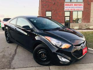 Used 2013 Hyundai Elantra Coupe SE for sale in Rexdale, ON