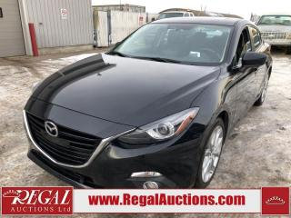 Used 2016 Mazda MAZDA3 GT 4D Sedan 2.5L for sale in Calgary, AB