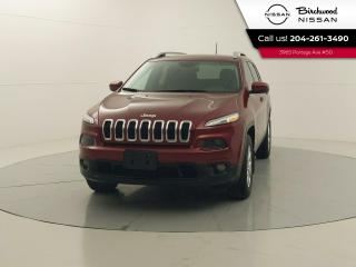 Used 2017 Jeep Cherokee North 4X4, Remote Start, Heated Seats and Steering Wheel, No Accidents for sale in Winnipeg, MB