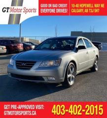 Used 2009 Hyundai Sonata GL | $0 DOWN - EVERYONE APPROVED! for sale in Calgary, AB