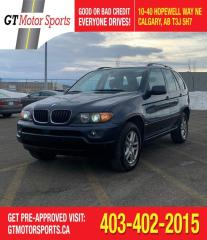 Used 2005 BMW X5 3.0i | $0 DOWN - EVERYONE APPROVED! for sale in Calgary, AB