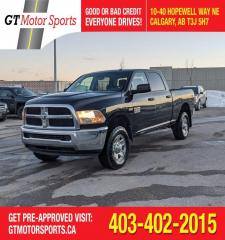Used 2014 RAM 2500 ST | $0 DOWN - EVERYONE APPROVED! for sale in Calgary, AB