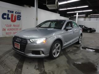Used 2019 Audi A3 4DR QUATTRO W/ HEATED LEATHER & SUNROOF for sale in Ottawa, ON