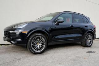 Used 2018 Porsche Cayenne Platinum Edition AWD for sale in Vancouver, BC