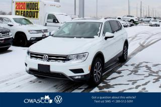 Used 2020 Volkswagen Tiguan *NEW* 2.0T Comfortline 4MOTION for sale in Whitby, ON