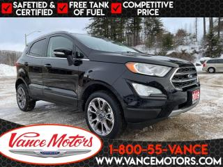 Used 2019 Ford EcoSport Titanium 4x4...LEATHER*HTD SEATS*SUNROOF! for sale in Bancroft, ON