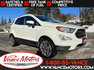 Used 2019 Ford EcoSport Titanium 4x4...SUNROOF*HTD SEATS*LEATHER! for sale in Bancroft, ON
