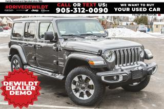 New 2021 Jeep Wrangler Unlimited Sahara | Sky Top | Nav & Sound | LED | for sale in Hamilton, ON