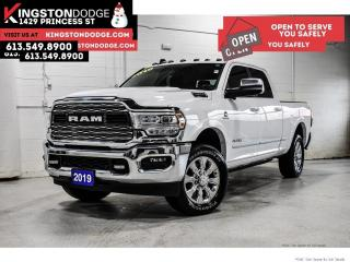 Used 2019 RAM 3500 Limited   Crew CAB   4X4   ONE Owner for sale in Kingston, ON