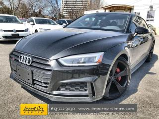 Used 2019 Audi S5 3.0T Technik LEATHER  ROOF  NAVI  BLIS  B&O SOUND for sale in Ottawa, ON