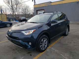 Used 2017 Toyota RAV4 Hybrid LE+ HYBRID  ALLOYS  CLOTH  ROOF  ADAPTIVE CRUISE for sale in Ottawa, ON