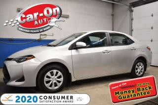 Used 2017 Toyota Corolla AUTOMATIC | AIR | REMOTE STARTER | SAFETY SENSE for sale in Ottawa, ON