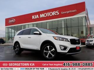 Used 2017 Kia Sorento EX+ V6 | CLEAN CARFAX | 7 PASS | PANO ROOF | 32 K for sale in Georgetown, ON