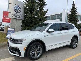 New 2021 Volkswagen Tiguan Highline for sale in Surrey, BC