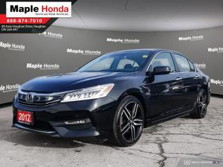 Used 2017 Honda Accord Touring|Navigation|Leather Seats|Wireles Charging| for sale in Vaughan, ON