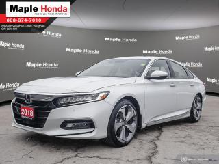 Used 2018 Honda Accord Touring|Leather|Navigation|Blind Spot Monitoring|H for sale in Vaughan, ON
