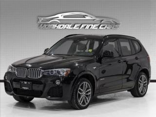 Used 2017 BMW X3 xDrive28i. M Sport. HUD. Nav. Pano. Reverse Cam for sale in Concord, ON