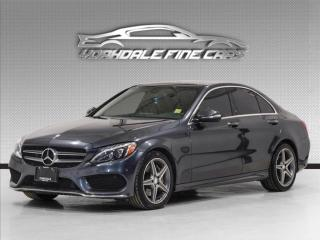 Used 2015 Mercedes-Benz C-Class C300 4MATIC. Navi, Pano, Burmester sound for sale in Concord, ON