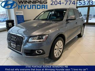 Used 2013 Audi Q5 2.0L Hybrid for sale in Winnipeg, MB