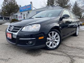 Used 2010 Volkswagen Jetta Sedan 4dr 2.0T TSI Wolfsburg* ACCIDENT FREE*WINTER TIRES for sale in Brampton, ON