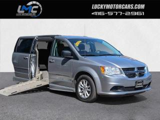 Used 2016 Dodge Grand Caravan SXT-MOBILITY WHEELCHAIR VAN-ONLY 60KMS for sale in Toronto, ON