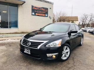 Used 2015 Nissan Altima 4dr SV, Sunroof, Backup Cam, Alloy Wheels for sale in Barrie, ON