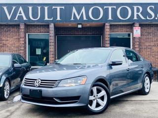 Used 2014 Volkswagen Passat 4dr Sdn 1.8 TSI Comfortline, NO ACCIDENTS,LEATHER,ONTARIO for sale in Brampton, ON