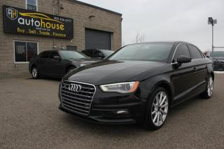 Used 2015 Audi A3 Quattro S-LINE /TECHNIK /NAVI /BACKUP CAMERA /SUNROOF for sale in Newmarket, ON