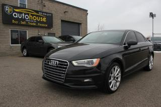 Used 2015 Audi A3 Quattro S-LINE /QUATTRO /TECHNIK /NAVI /BACKUP CAMERA /SUNROOF for sale in Newmarket, ON