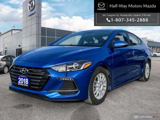 Used 2018 Hyundai Elantra Sport tech for sale in Thunder Bay, ON