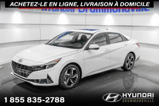 Used 2021 Hyundai Elantra ULTIMATE + GARANTIE + 1349 KM + TOIT + for sale in Drummondville, QC