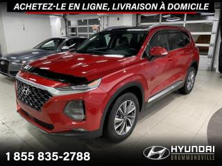 Used 2020 Hyundai Santa Fe 2.0T + AWD + CUIR + TOIT PANO + WOW !! for sale in Drummondville, QC
